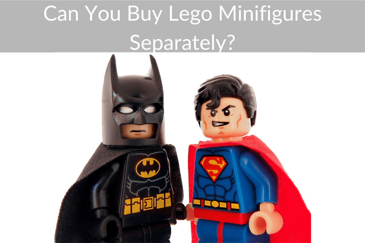 Can You Buy Lego Minifigures Separately?
