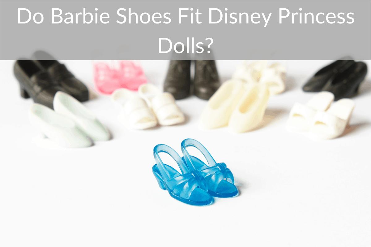 Do Barbie Shoes Fit Disney Princess Dolls?