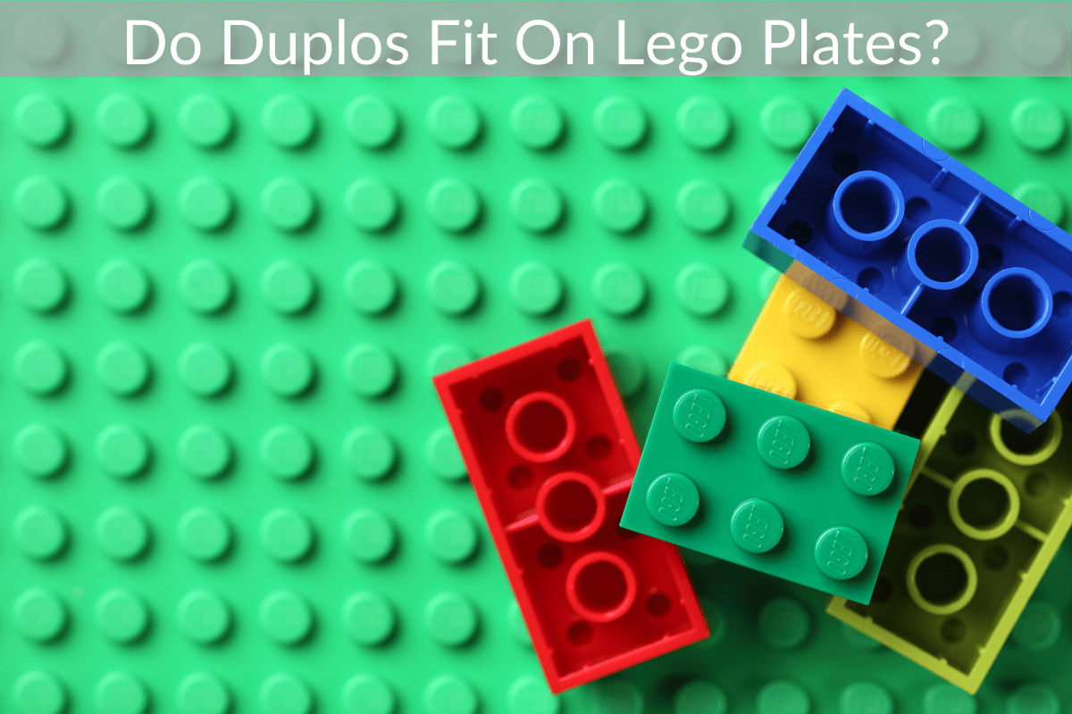 Do Duplos Fit On Lego Plates?