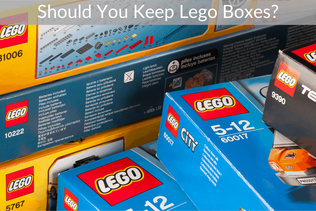 Should You Keep Lego Boxes?