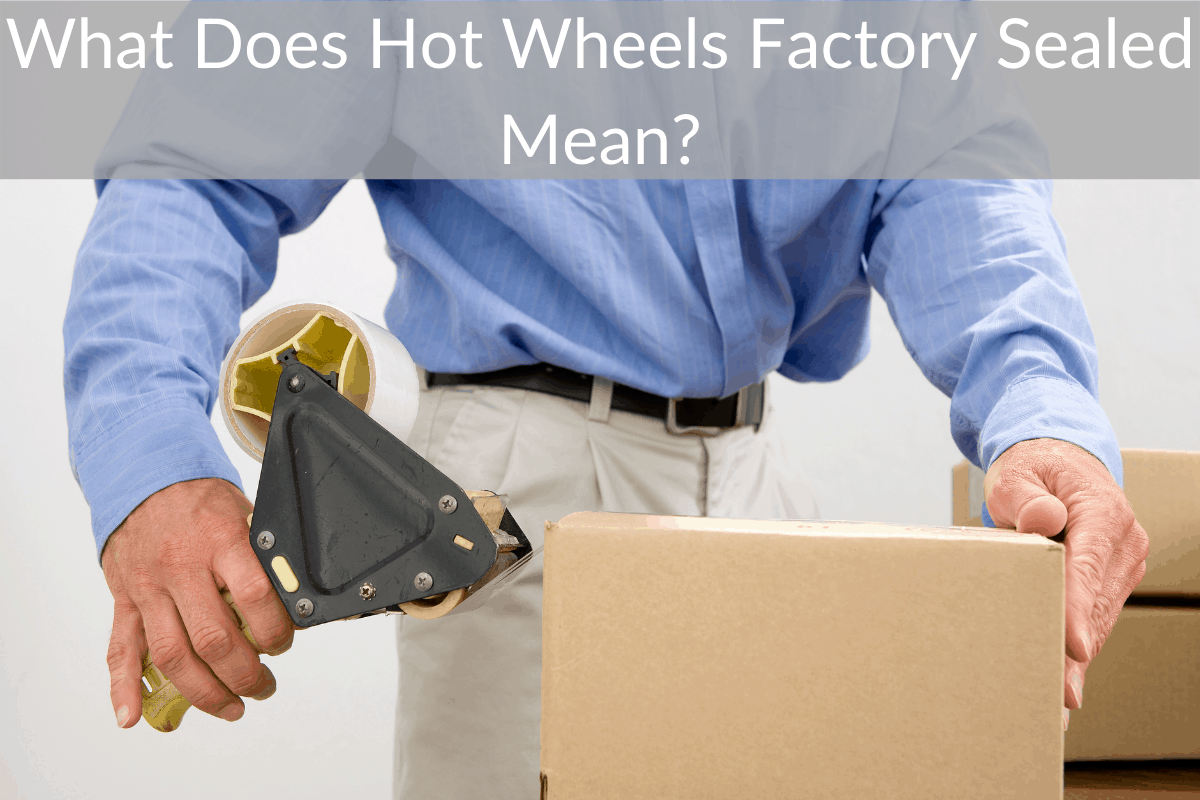 What Does Hot Wheels Factory Sealed Mean?