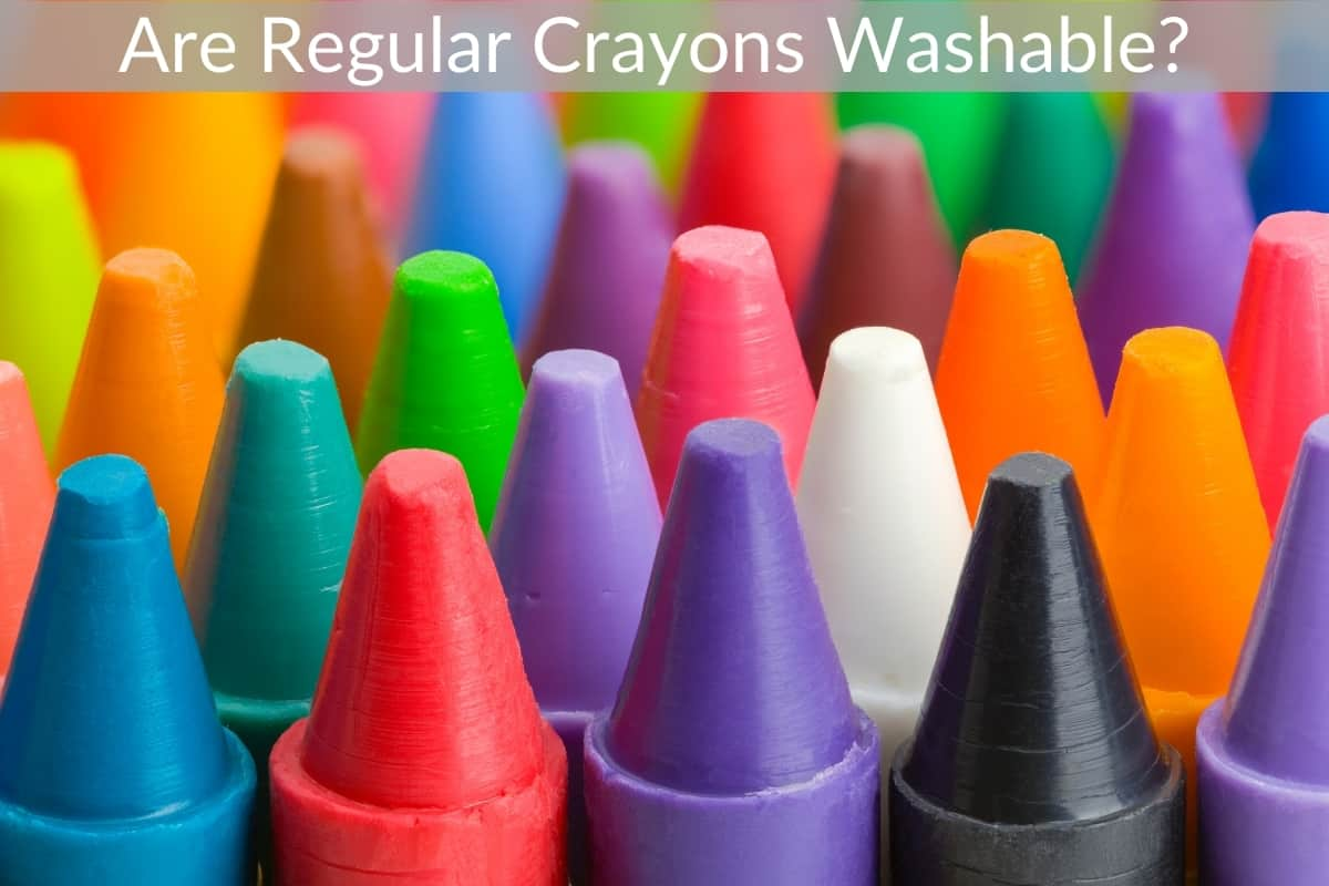 Are Regular Crayons Washable?