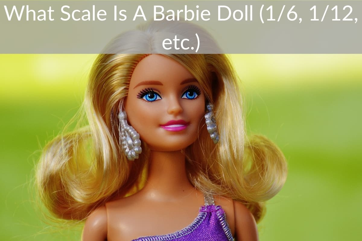 What Scale Is A Barbie Doll (1/6, 1/12, etc.)