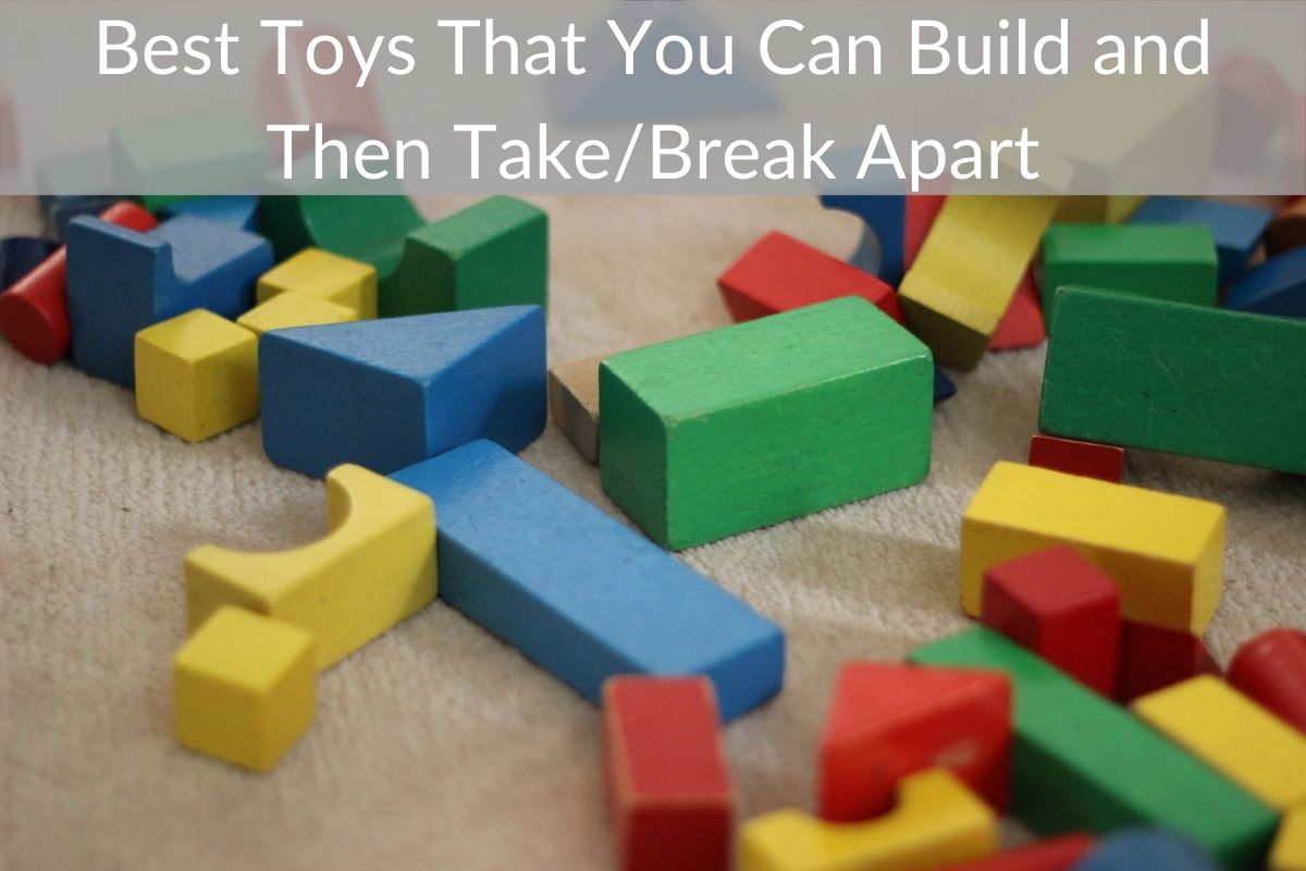 Best Toys That You Can Build and Then Take/Break Apart