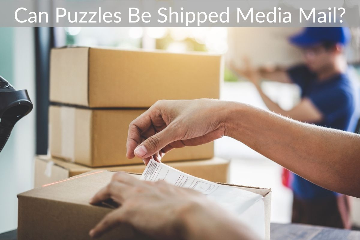 Can Puzzles Be Shipped Media Mail?