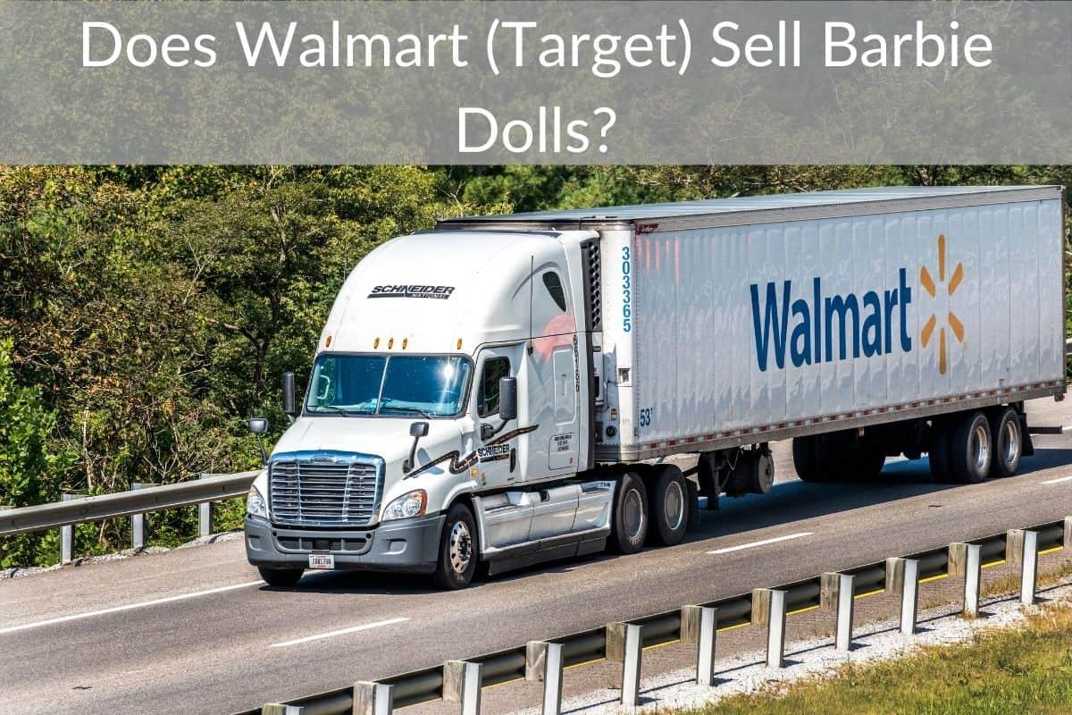 Does Walmart (Target) Sell Barbie Dolls?
