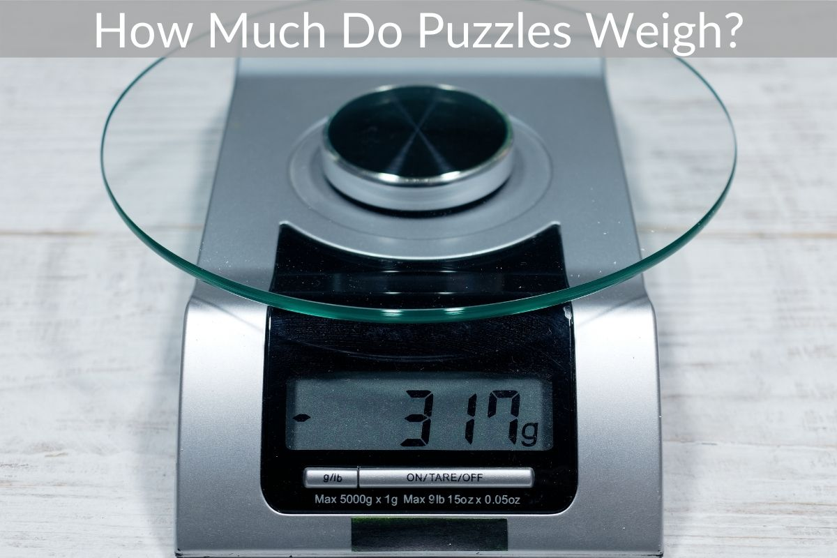 How Much Do Puzzles Weigh?