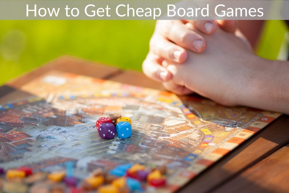 How to Get Cheap Board Games
