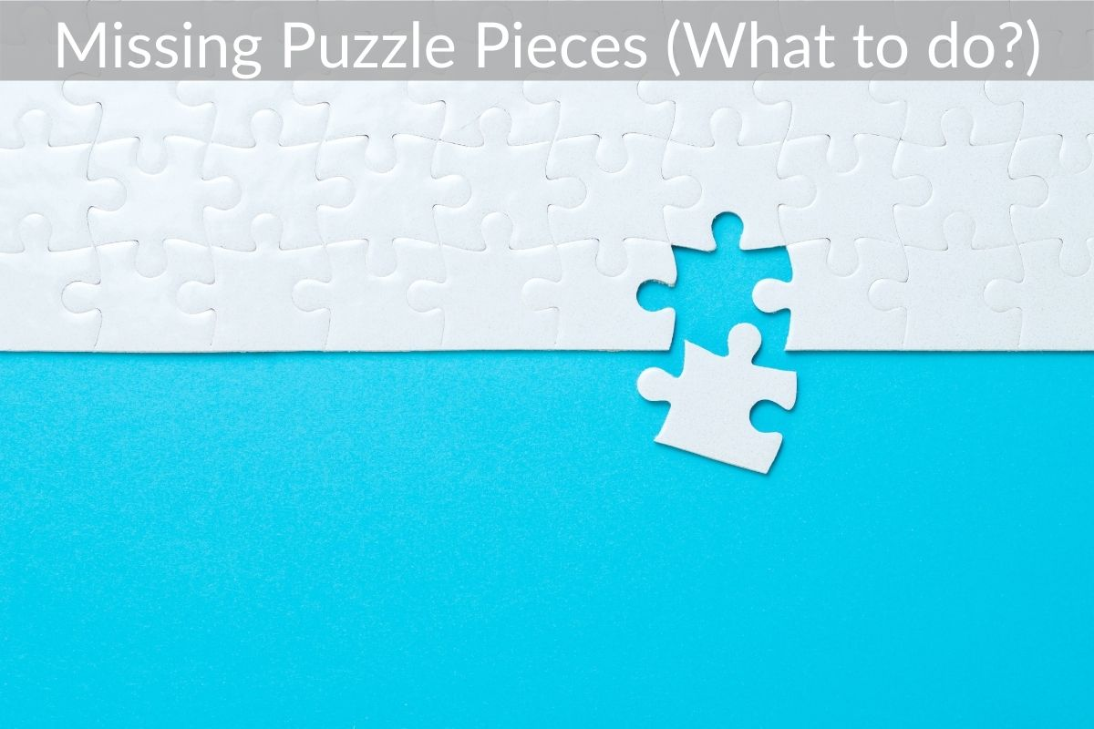Missing Puzzle Pieces (What to do?)