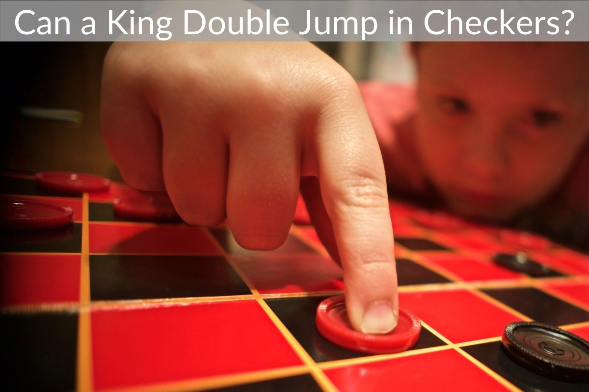Can a King Double Jump in Checkers?