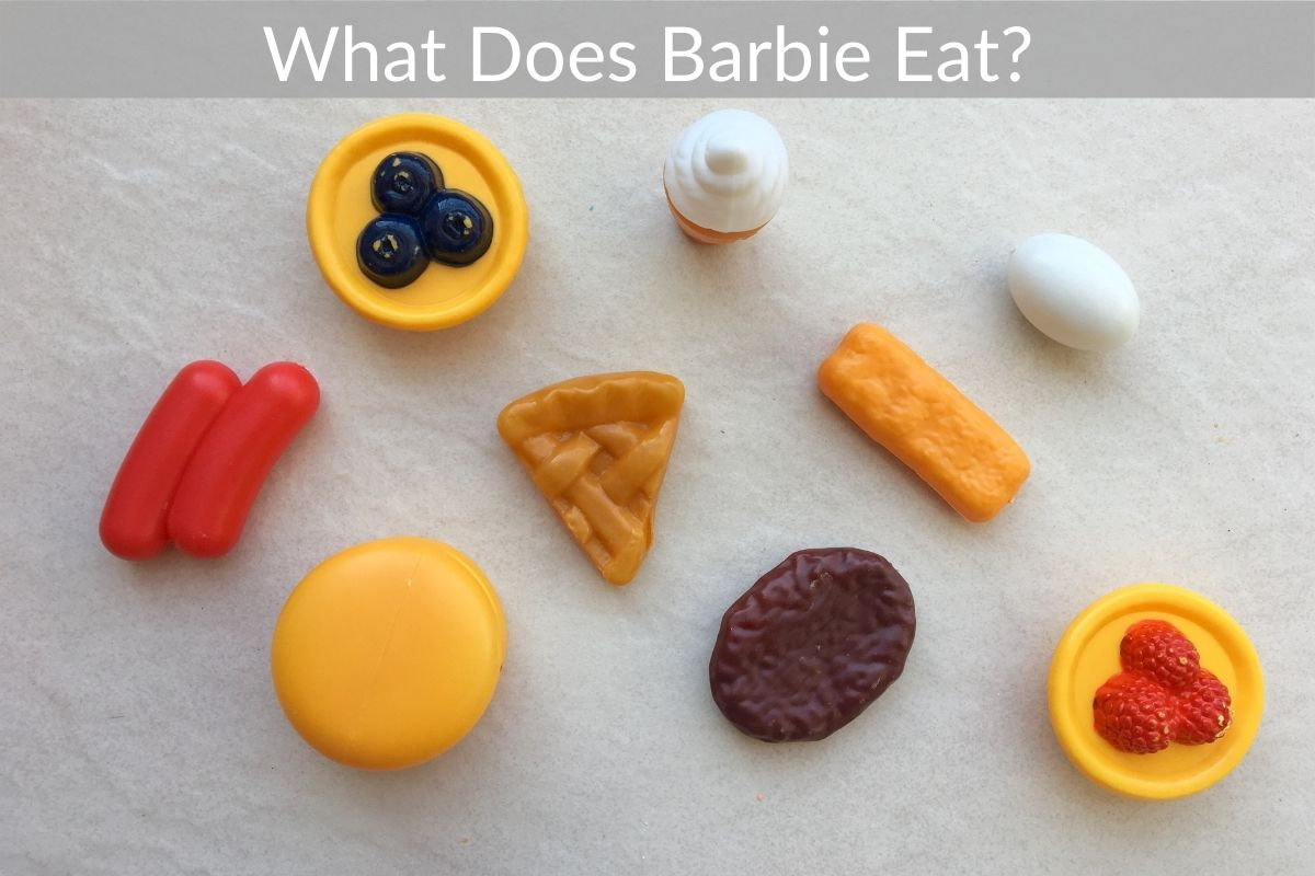 What Does Barbie Eat?