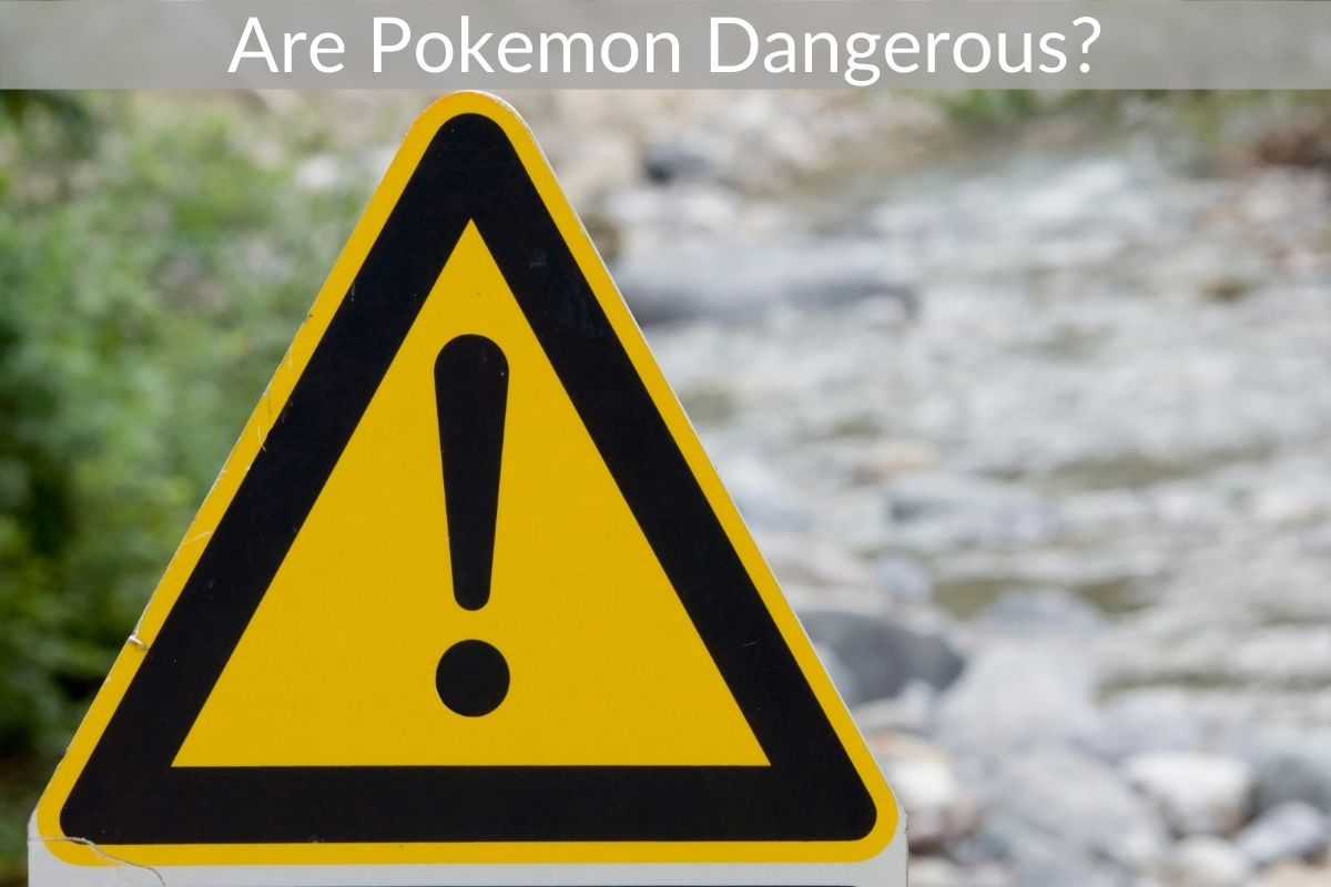 Are Pokemon Dangerous?