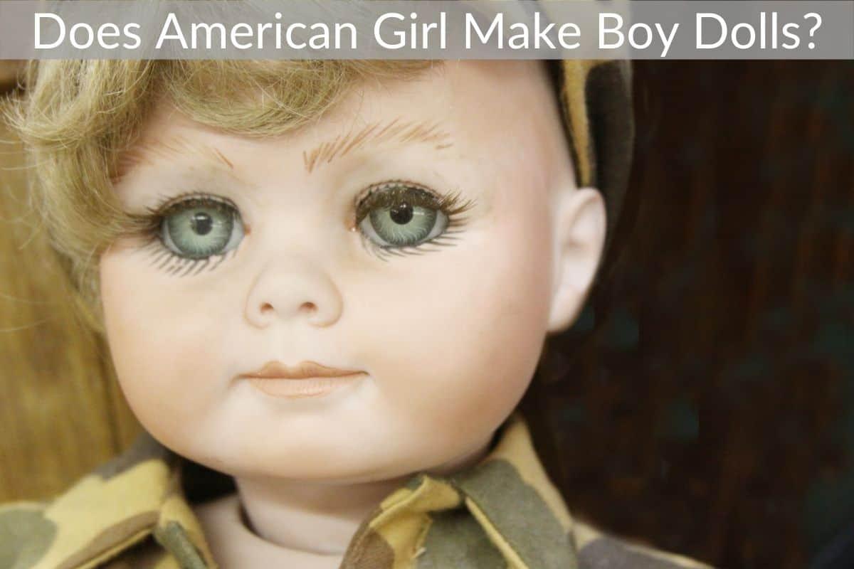 Does American Girl Make Boy Dolls?